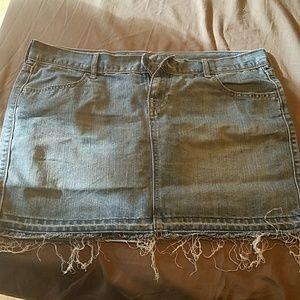 Super cute jean skirt